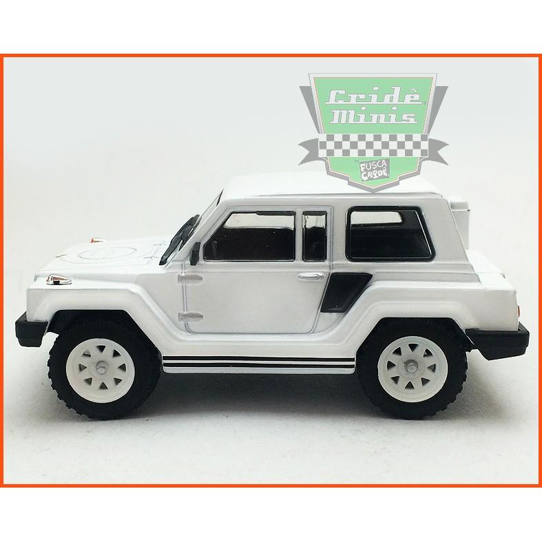 Gurgel X12 TR 1979 - Carros Nacionais - escala 1/43