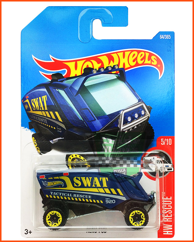 Hot Wheels Aero POD SWAT - escala 1/64