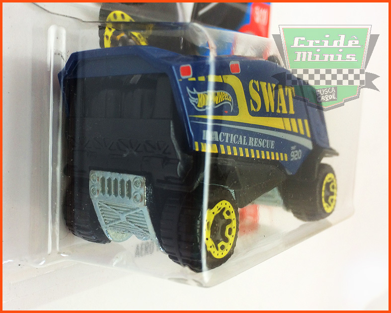Hot Wheels Aero POD SWAT - escala 1/64