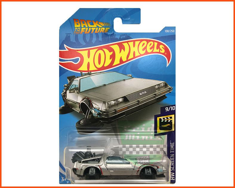 Hot Wheels Back To The Future Time Machine - escala 1/64