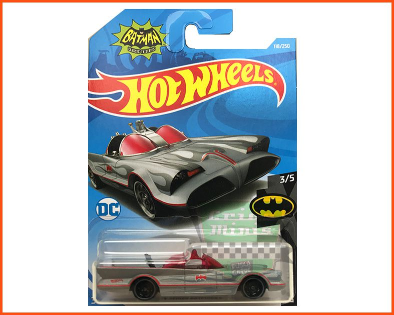 Hot Wheels batman Batmobile - escala 1/64