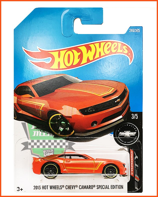 Hot Weels Camaro SPECIAL EDITION 2013 - escala 1/64