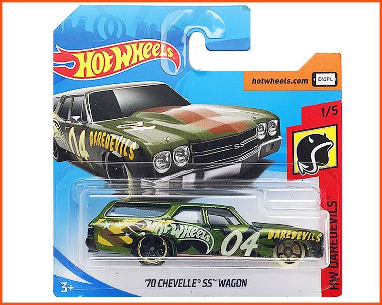 Hot Wheels Chevelle SS Custom Wagon 70 - escala 1/64