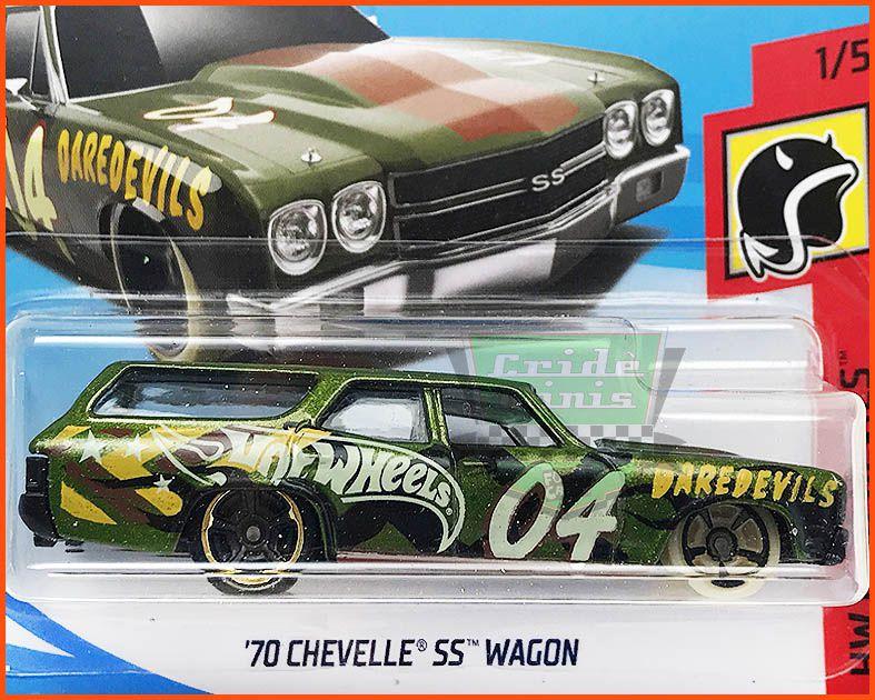 Hot Wheels Chevelle SS Custom Wagon 70 - escala 1/64