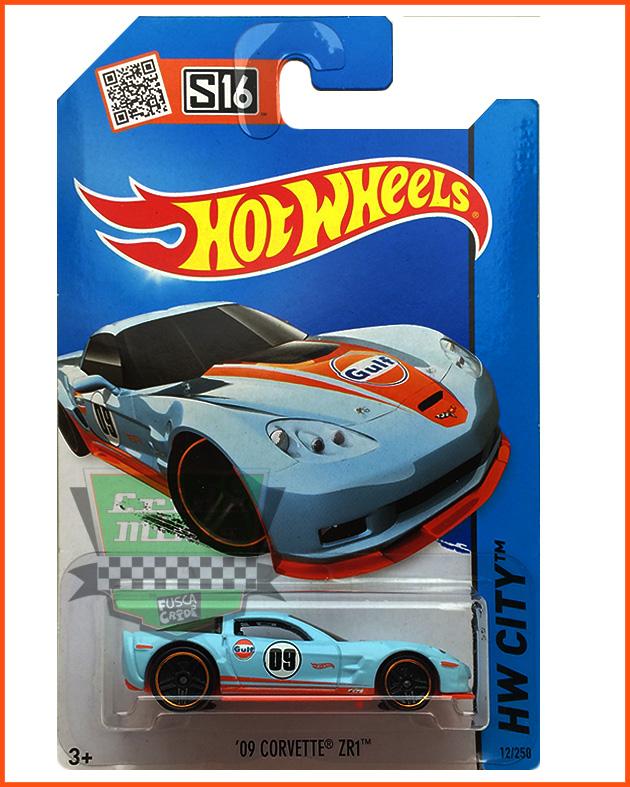 Hot Weels Corvette ZR1 - escala 1/64