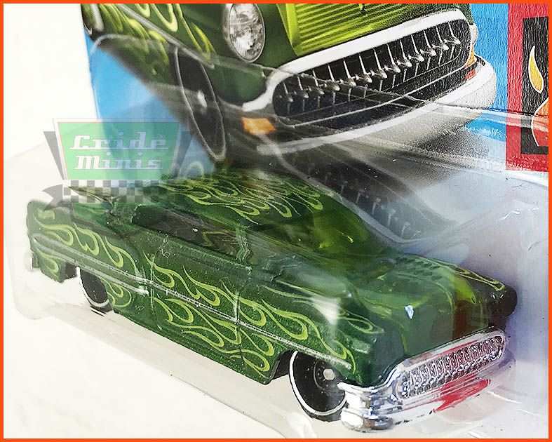 Hot Wheels Custom 53 Chevy - escala 1/64 Capô Transparente