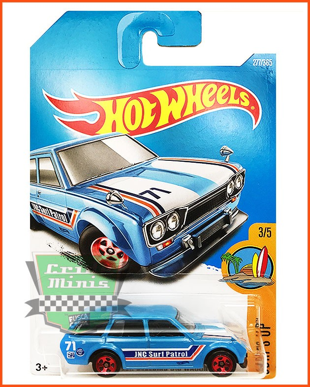 Hot Wheels Datsun Bluebird Wagon 71 - escala 1/64