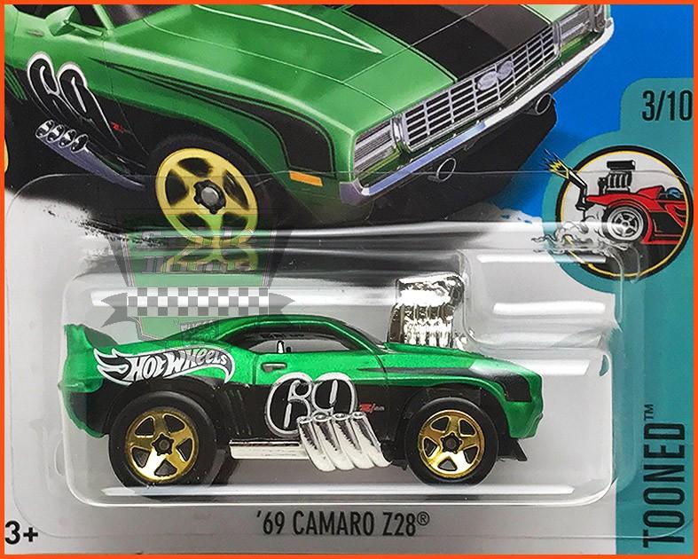 Hot Weels Camaro Z28 1969 - escala 1/64