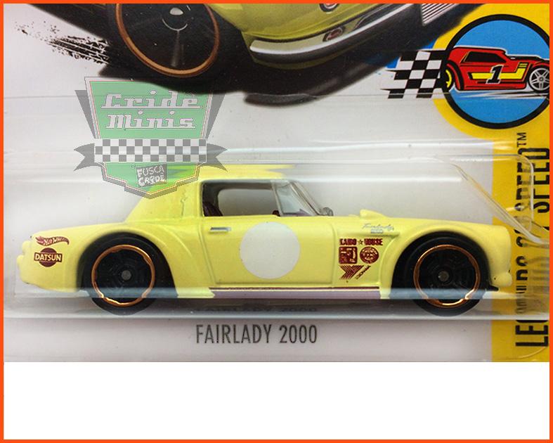 Hot Wheels Fairlady 2000 - escala 1/64