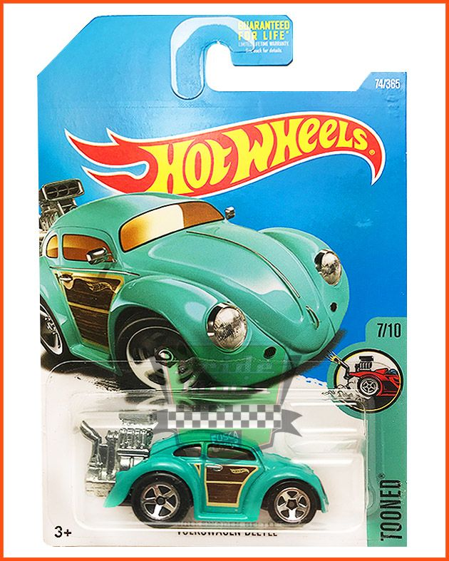 Hot Weels Fusca VW - escala 1/64