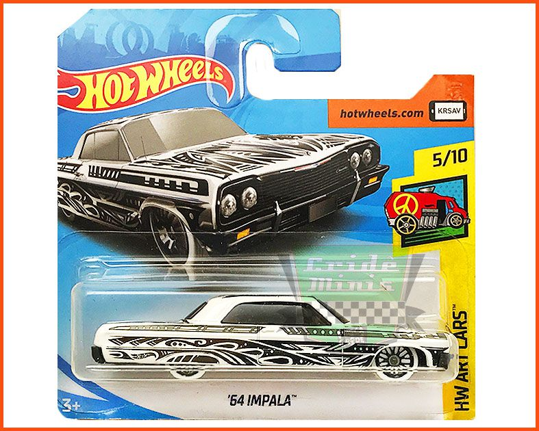 Hot Wheels Impala 64 - escala 1/64