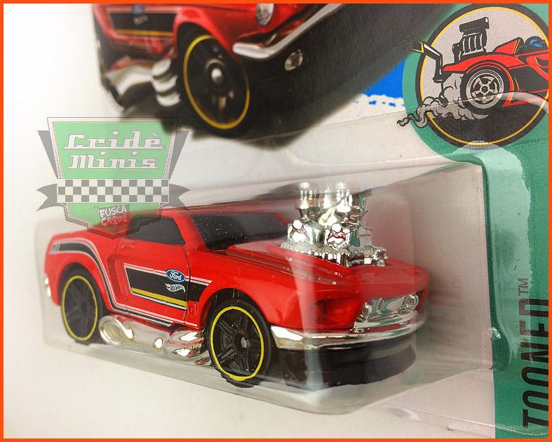 Hot Weels Mustang 68 - escala 1/64