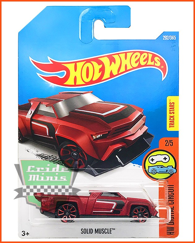 Hot Weels Solid Muscle - escala 1/64