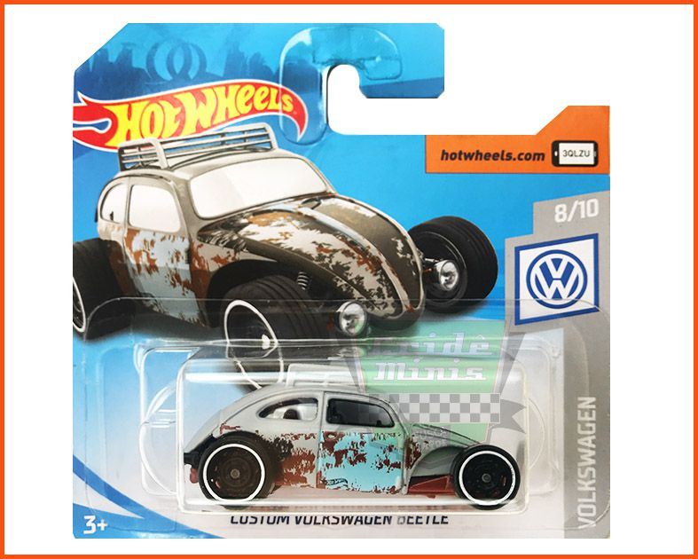 Hot Wheels Volkswagen Fusca Custom - escala 1/64