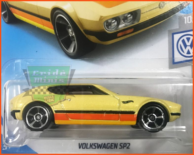 Hot Wheels Volkswagen SP2 - escala 1/64
