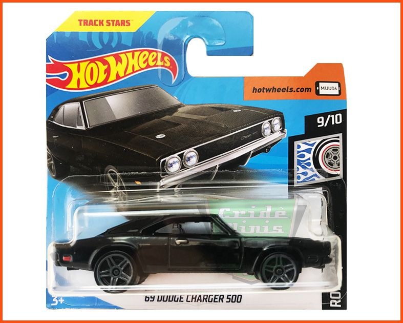 Hot Wheels Dodge Charger 500 1969 - escala 1/64