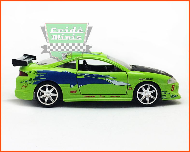 Jada Brian's Mitsubishi Eclipse - Velozes & Furiosos - escala 1/32