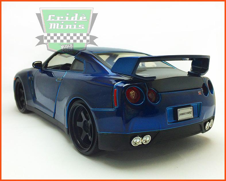 Jada Brian's Nissan GT-R (R35) - Velozes e Furiosos 7 - escala 1/24