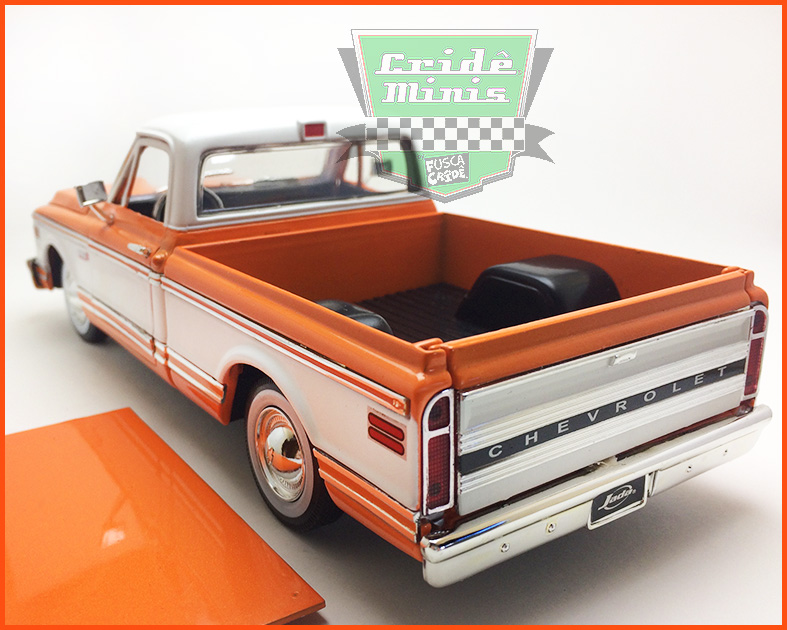 Jada Chevrolet Cheyenne Pick-up 1972  - escala 1/24