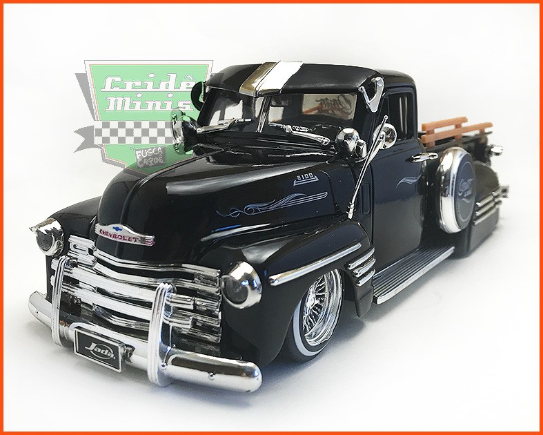 Jada Chevrolet Pick-up 3100 1951 - escala 1/24