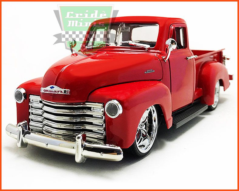 Jada Chevrolet Pick-up 3100 1953 Red - escala 1/24