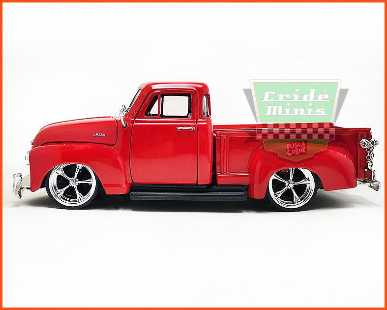 Jada Chevrolet Pick-up 3100 1953 Red - escala 1/24