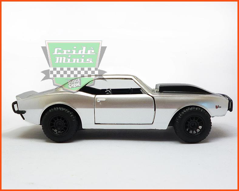 Jada Chevy Camaro 1967 - Velozes e Furiosos - escala 1/32
