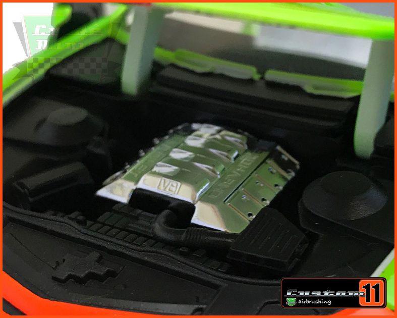 Jada Chevy Camaro SS 2010 Customizado 30 dias de produção - escala 1/24