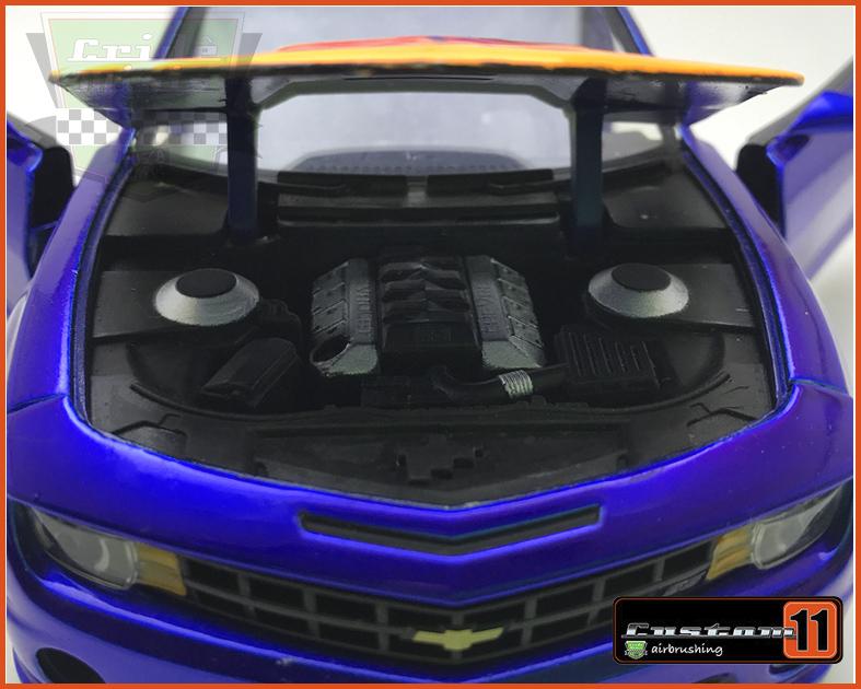 Jada Chevy Camaro SS 2010 Customizado Peça única - escala 1/24