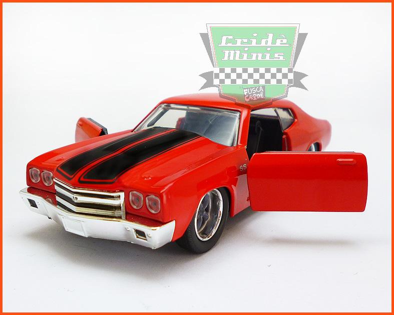 Jada Chevy Chevelle SS 1970 - Velozes & Furiosos - escala 1/32