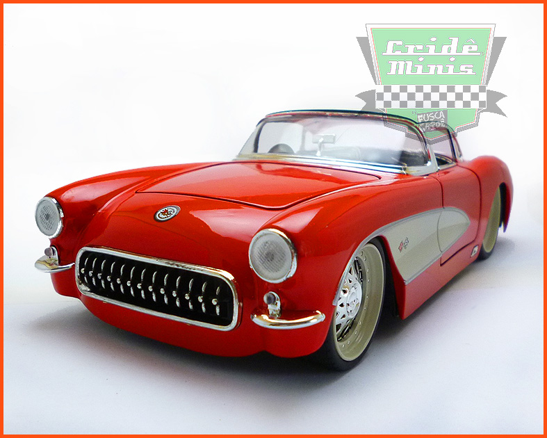 Jada Chevy Corvette 1957 - escala 1/24