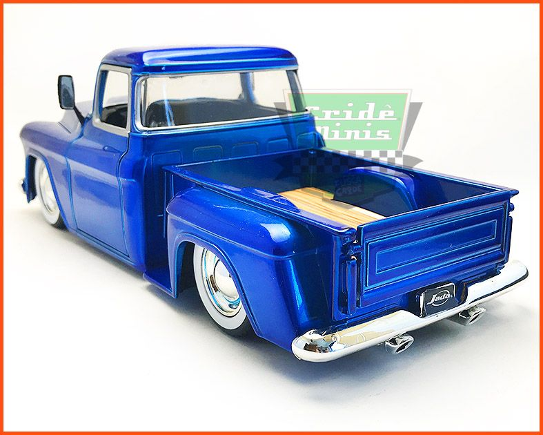 Jada Chevy Stepside Pick-up 1955 Custom - escala 1/24