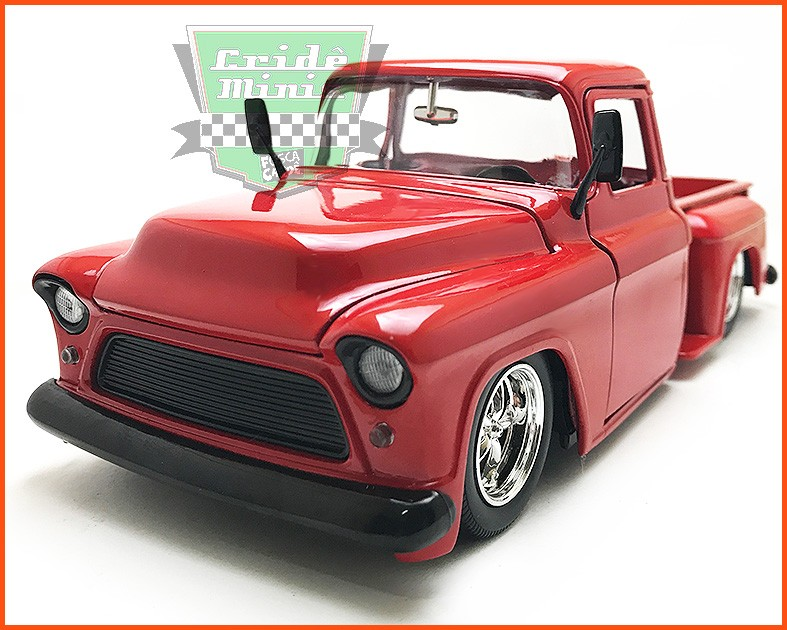 Jada Chevy Stepside Pick-up 1955 - escala 1/24