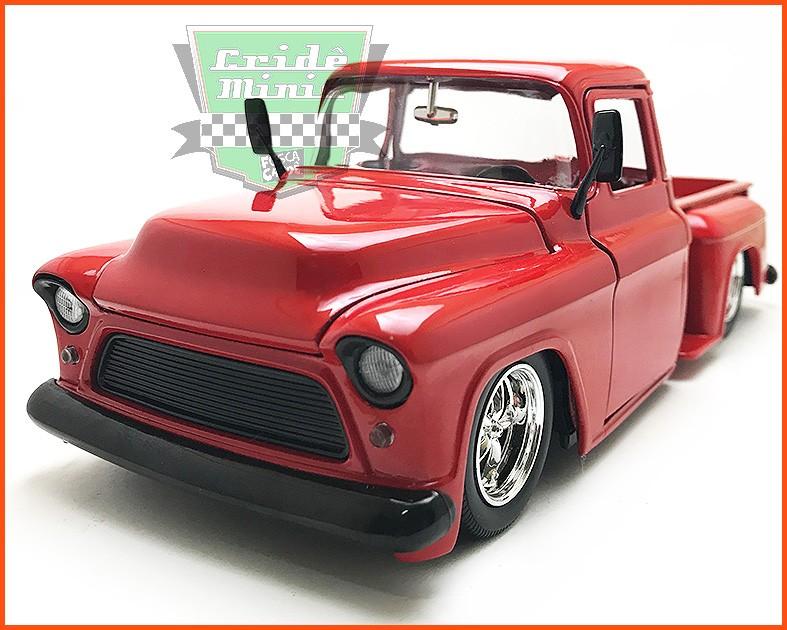 Jada Chevy Stepside Pick-up 1955 - escala 1/24