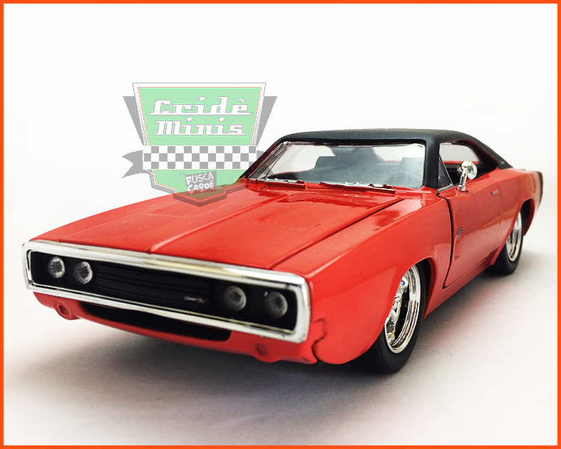 Jada Dodge Charger R/T 1970 BIG TIME  - escala 1/24