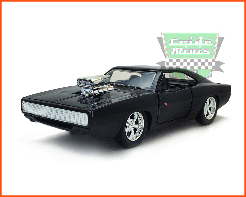 Jada Dodge Charger R/T 1970 Velozes e Furiosos 7 - escala 1/32