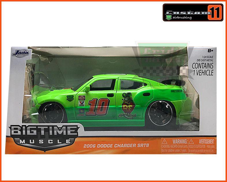 Jada Dodge Charger SRT8 2006 CUSTOMIZADO - escala 1/24