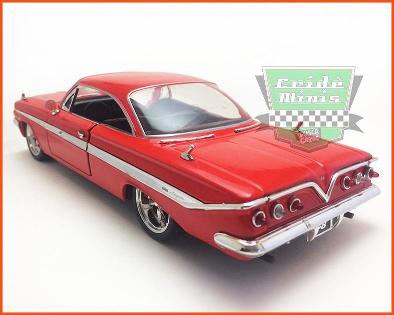 Jada Dom's Chevy Impala - Velozes & Furiosos 8 - escala 1/24