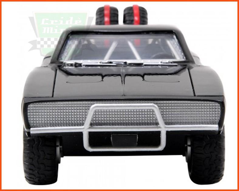 Jada Dom's Dodge Charger FR/T 1970 - Velozes e Furiosos 7 - escala 1/24