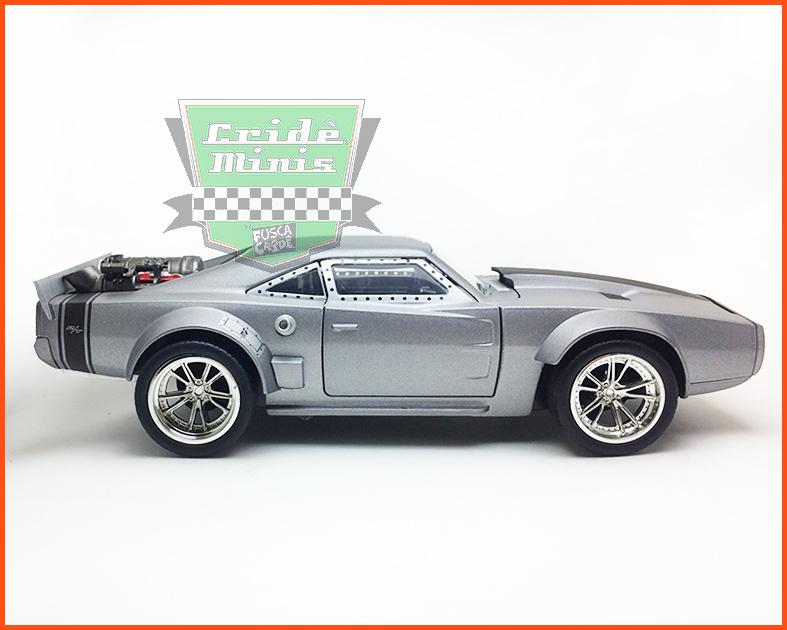 Jada Dom's Dodge Ice Charger - Velozes e Furiosos 8 - escala 1/24