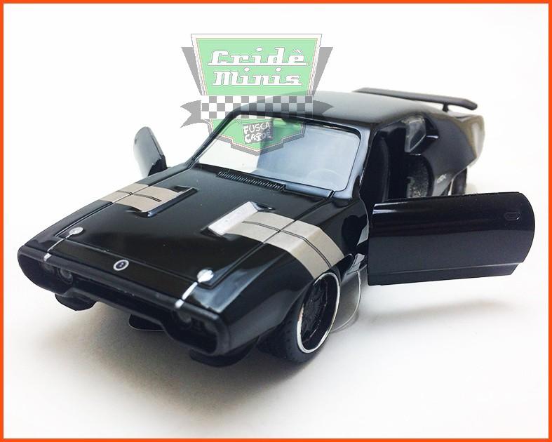 Jada Dom's Plymouth GTX 1972 - Velozes & Furiosos 8- escala 1/32