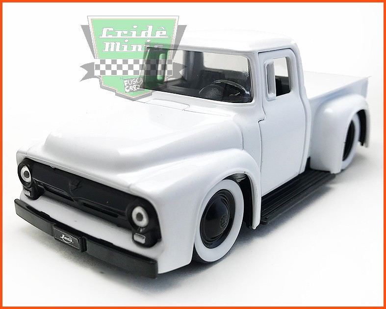 Jada Ford F-100 1956 - escala 1/32