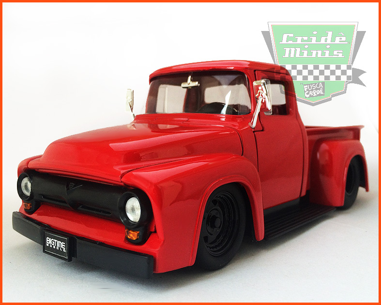 Jada Ford F-100 Pickup1956 - escala 1/24