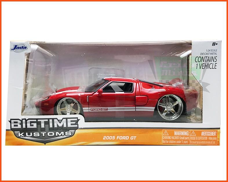 Jada Ford GT 2005 Red - escala 1/24