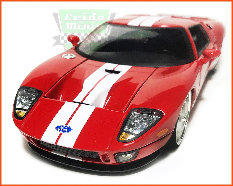 Jada Ford GT 2005 Red - escala 1/24