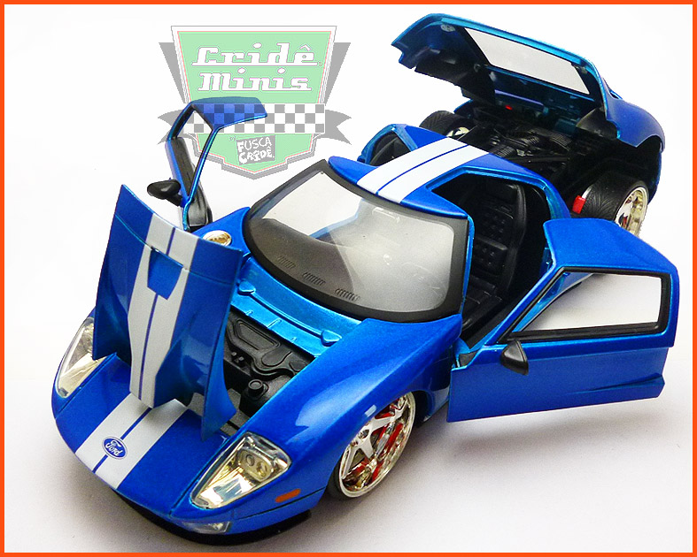Jada Ford GT - Velozes e Furiosos - escala 1/24