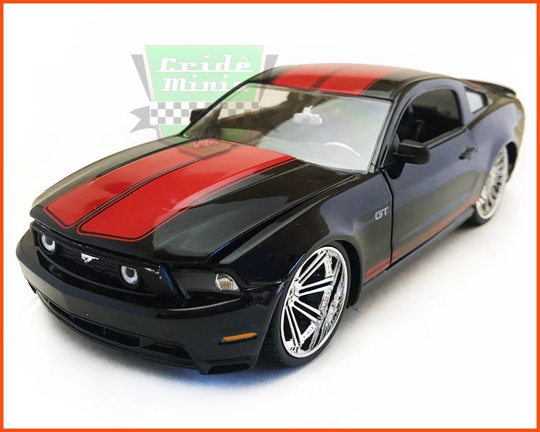 Jada Ford Mustang GT 2010 Black - escala 1/24