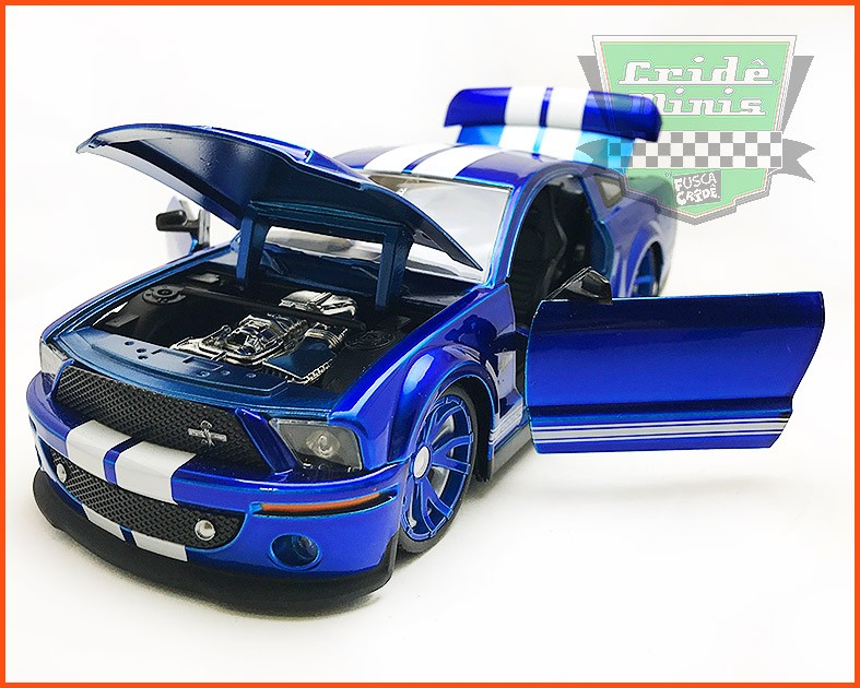 Jada Ford Shelby GT500 2008 - escala 1/24