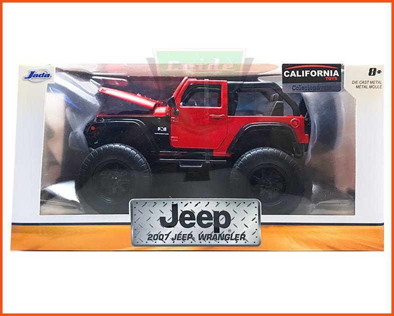 Jada Jeep Wrangler - escala 1/24
