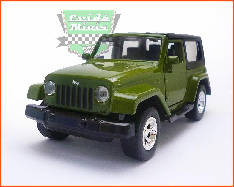 Jada Jeep Wrangler - escala 1/32
